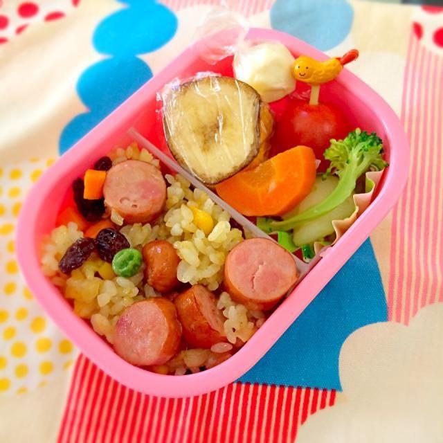カレーピラフ 手抜き… - 12件のもぐもぐ - 11月20日 幼稚園お弁当 by naoko