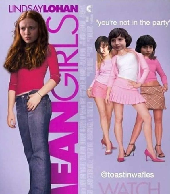 Stranger things mean girl meme