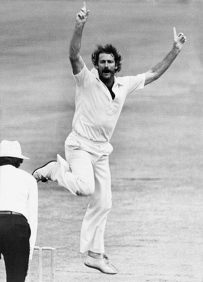 """Superb side on action, searing pace and well disguised """"leg-spin"""" slower ball, with raw old school grit, Dennis Lillee was the complete package as a fast bowler."""