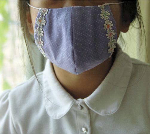 まるい立体マスク【型紙アリ】の作り方 ソーイング 編み物・手芸・ソーイング アトリエ