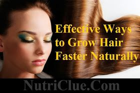 home remedies for  Grow Hair Faster Naturally