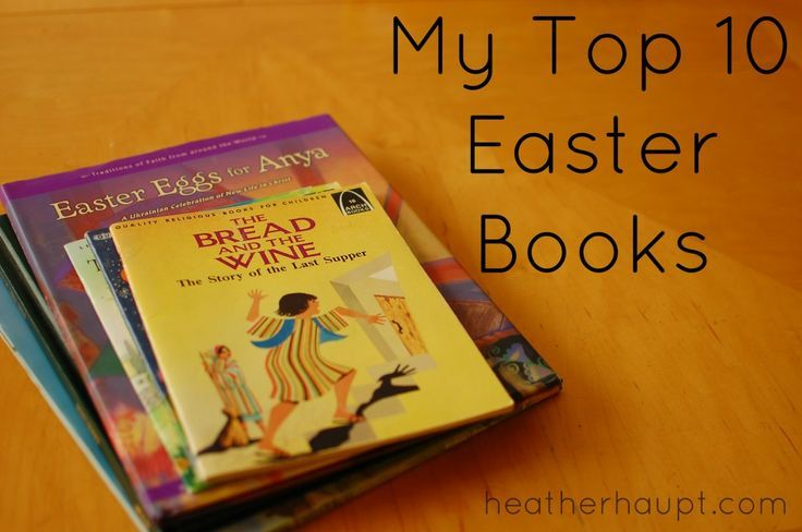 "10 ""must-own"" books for a Christ-Centered Easter"