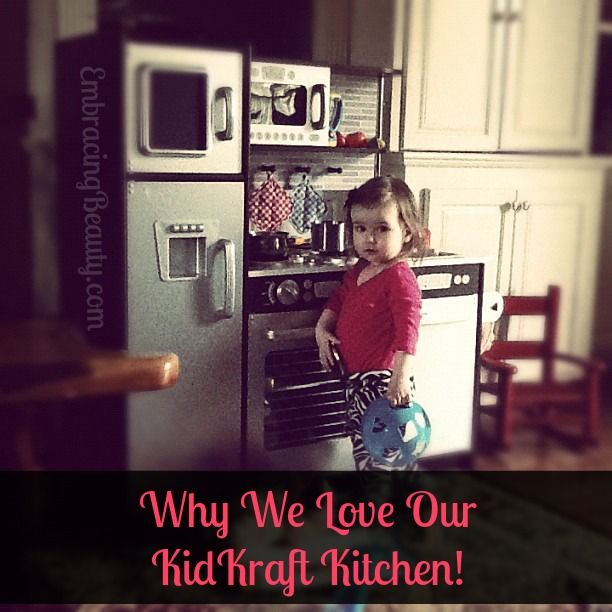 KidKraft Kitchen - My whole family ADORES ours! Cute, sturdy, and has lots of storage!