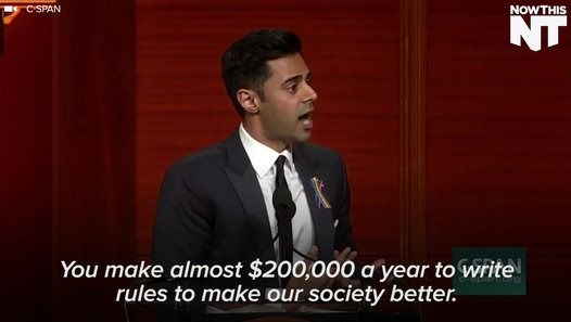 'The Daily Show's' Hasan Minhaj says Congress is complicit in the deaths of thousands of Americans by catering to the NRA instead of our citizens.