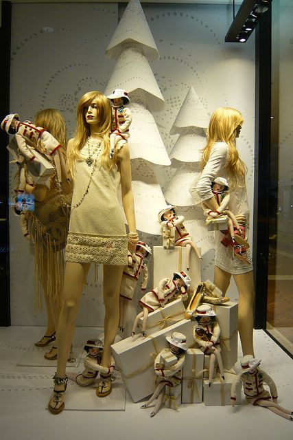 what are all these dolls doing in the window ? pinned by Ton van der Veer