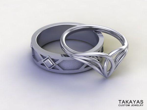 These 'LOTR' Wedding Rings Definitely Rule Them All