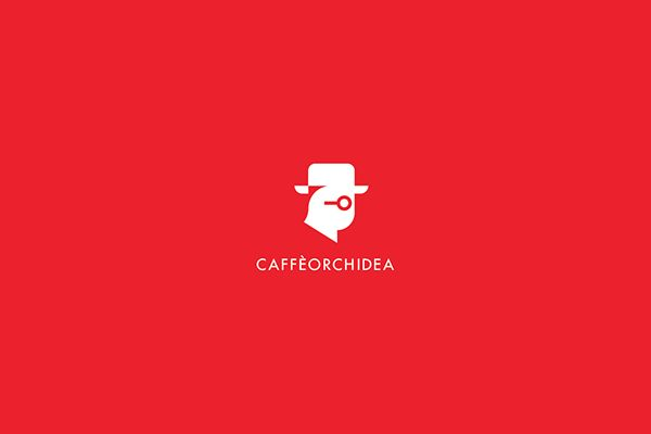 Caffeorchidea, identity and books on Behance