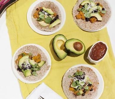 Kale fritters, butternut squash tacos, and more plant-based, dairy-free, gluten-free, organic recipes from the popular food delivery service.