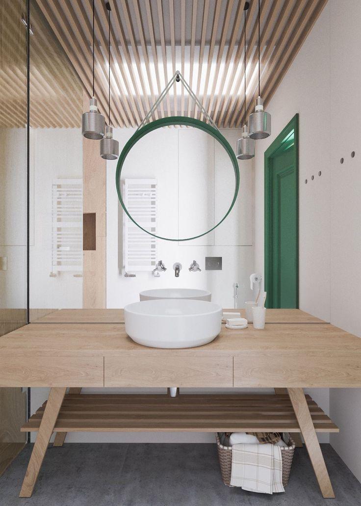 Make Photo Gallery A Beautiful One Bedroom Bachelor Apartment Under Square Meters With Floor Plan Bathroom Interior DesignBathroom