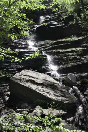Lye Brook Falls Manchester Vermont