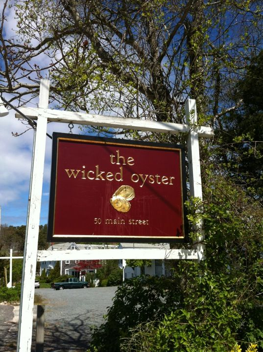 the wicked oyster restaurant - Wellfleet MA