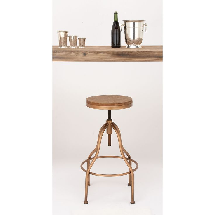 New Copper Metal Wood Counter Stool Kitchen Dining Bar: 17+ Ideas About Vintage Bar Stools On Pinterest