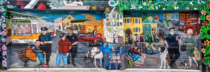 "Mural,Mission-District,San-Francisco, from the post, ""On Dignity"" 