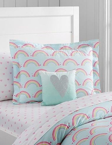 Heart And Rainbow Bedding U2014 That Would Inspire Us To Make Our Beds Every  Morning!
