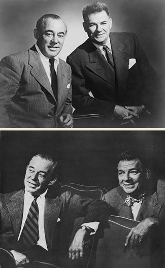 "Richard Rodgers (1902–1979) and Oscar Hammerstein II (1895–1960). Best known as Rodgers and Hammerstein, this inspired team helped create what is known as the ""golden age"" of musical theatre. The many accolades for their show and film versions of Oklahoma!, Carousel, South Pacific, The King and I, The Sound of Music and others include 34 Tony Awards, 15 Academy Awards, the Pulitzer Price, and 2 Grammies.  Their musical theatre writing partnership has been called the greatest of the 20th…"