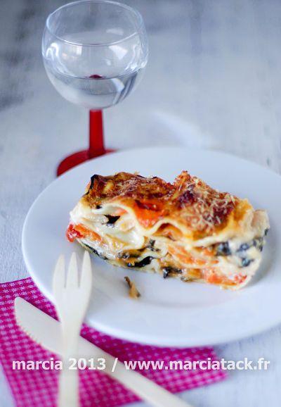 Lasagnes aux légumes dhiver - Recette - Marcia Tack Très bon mais j'ai doublé la quantité de sauce et ajouté de la tomate. Il faut beaucoup poivrer et bien saler.
