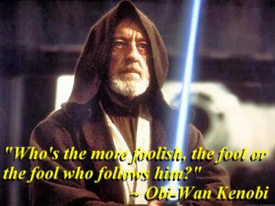 Star Wars - Obi Wan Kenobi quote