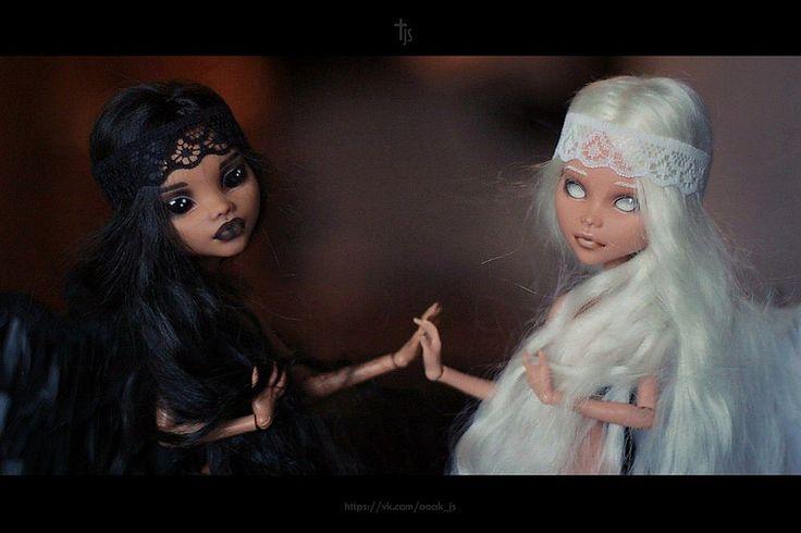 OOAK Monster High Cleo de Nile and Clawdeen Wolf #OOAKbyJuliSidorova #JuliSidorova #OOAKMonsterHigh #MonsterHigh #OOAK #Doll #ООАКМонстерХай #МонстерХай #КлеодеНил #CleodeNile #OOAKCleodeNile #JS #КлодинВульф #ClawdeenWolf #OOAKClawdeenWolf | da julisidorova