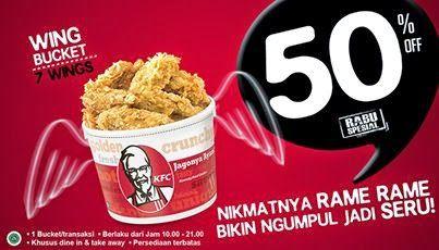 harga paket promo rabu spesial KFC, paket promo KFC, kfc, promo kfc,