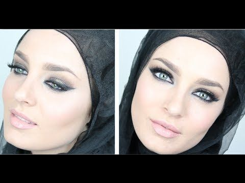 ▶ Gold & Purple Arabic Smokey Eye Tutorial for Eid - YouTube...so interesting to watch...Chloe M. is a beautiful Aussie makeup artist from down under...