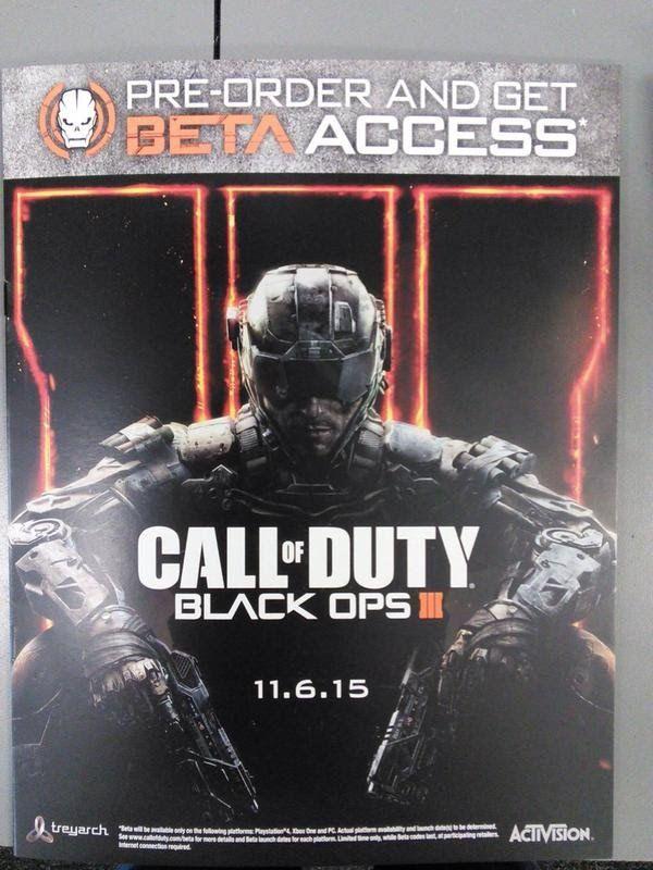 INFO AW SUMINISTROS BONUS Y BLACK OPS 3 ¿ EXCLUSIVIDAD PS4?