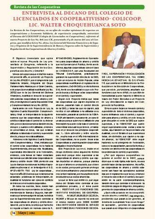 COOPERATIVAS PERÚ Y EL CONTROL- SUPERVISION