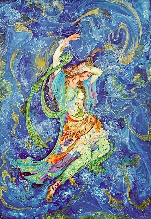 Iranian art by m.farshchian . ♥