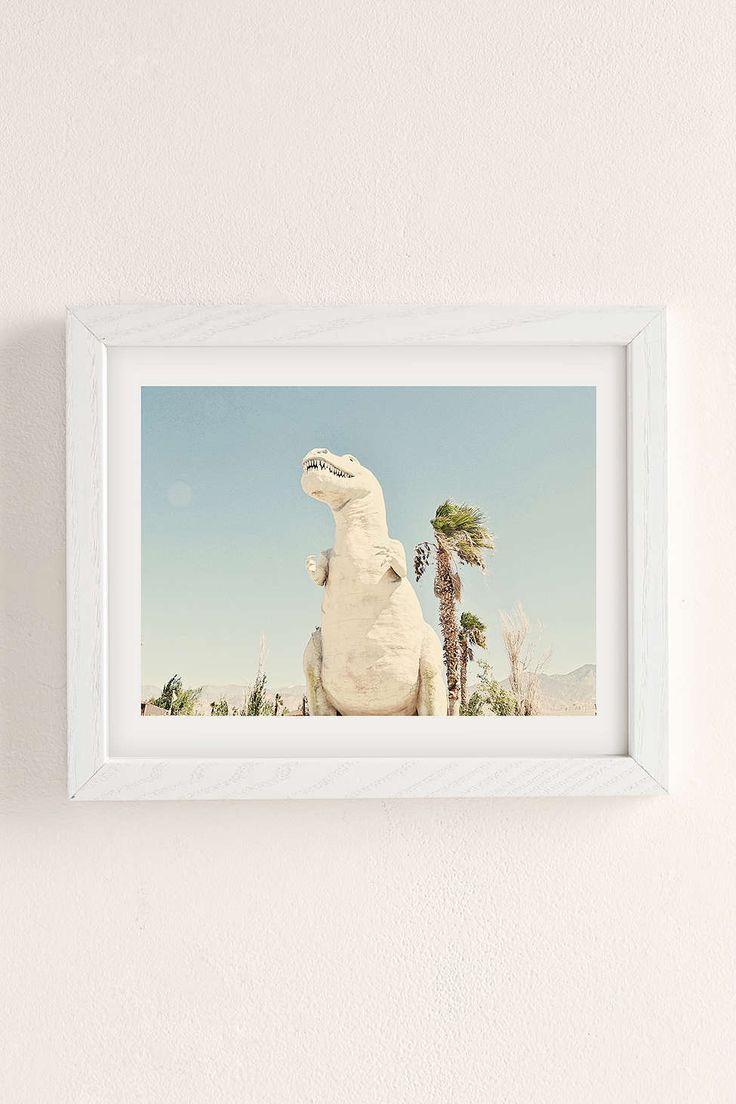 Urban Dreams Photography Palm Springs Dino Art Print - Urban Outfitters