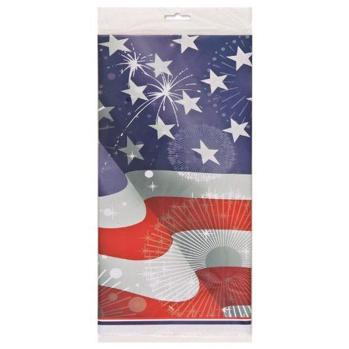 OLD GLORY USA Stars and Stripes Plastic Tablecover Unique http://www.amazon.co.uk/dp/B004YQVLZ4/ref=cm_sw_r_pi_dp_IPrTub0WV6K2Q