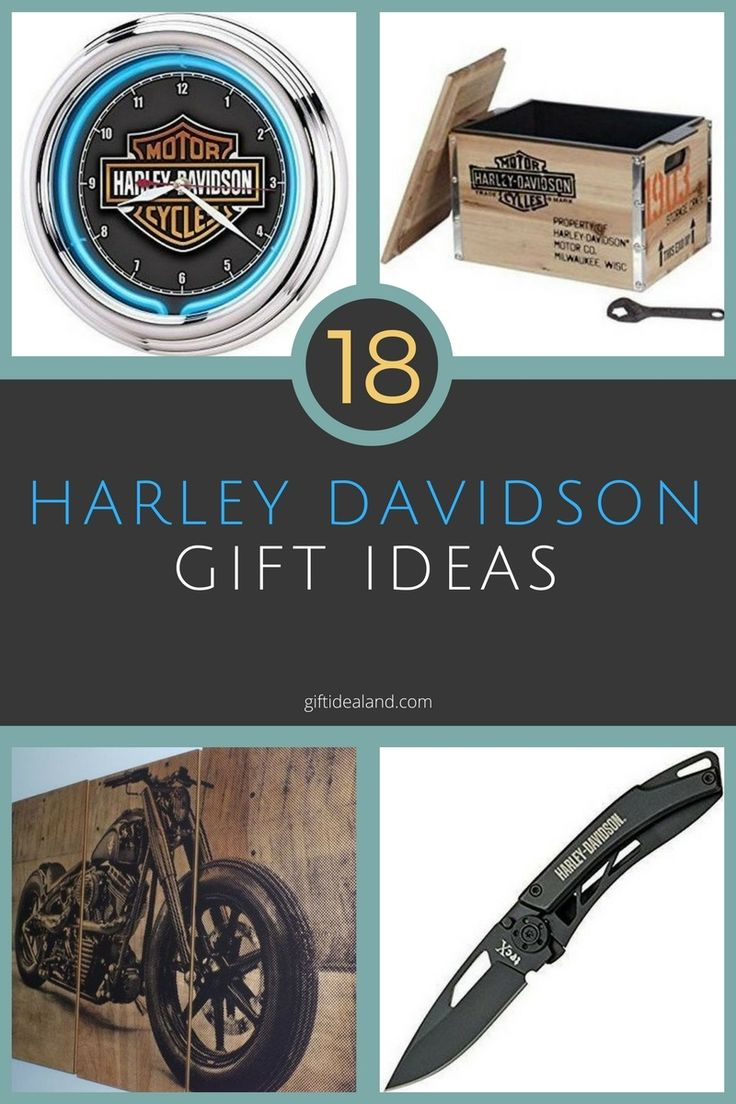 18 Good Harley Davidson Gift Ideas For Everyone