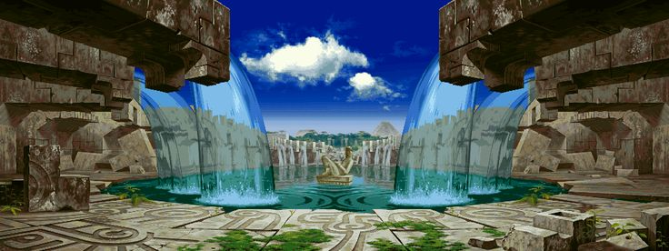 background :: pixel art :: gif (gif animation, animated pictures ...