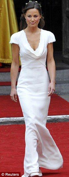 Favorite Dresses of 2011 - Pippa's bridesmaid dress