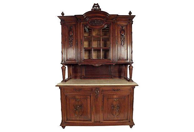 Louis XVI-Style Marble Top Buffet on OneKingsLane.com