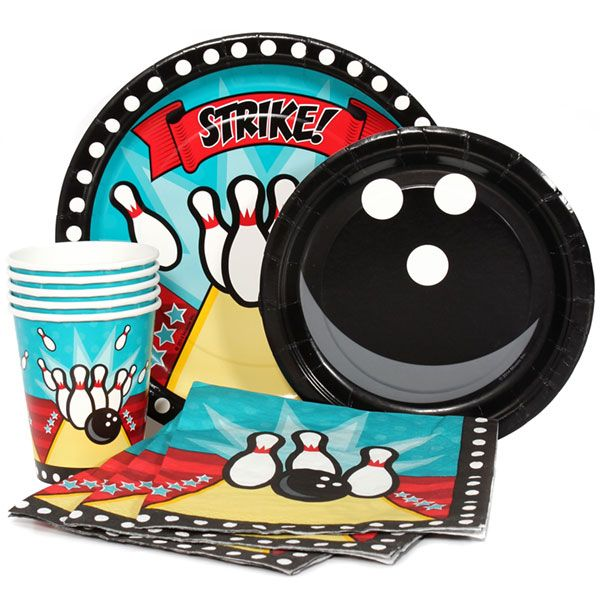 Bowling Party Supplies at Birthday Direct