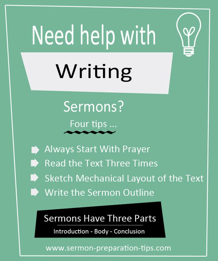 9 best How To Write Sermon Outlines images on Pinterest | Outlines ...