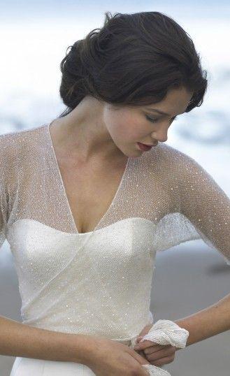 肌寒い時はさっと羽織って♡ 花嫁のボレロコーデまとめ。結婚式・ウェディングの参考に☆