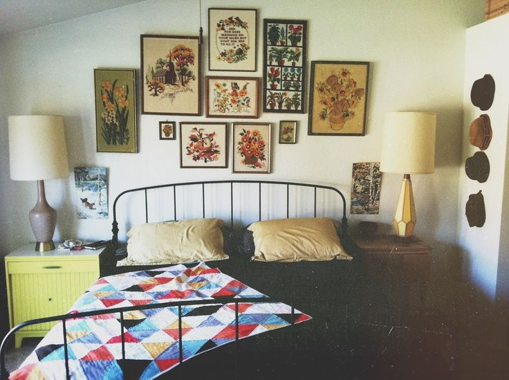 355 best bedrooms images on pinterest bedroom ideas for Quirky bedroom inspiration
