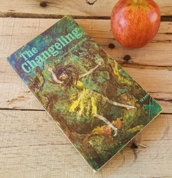Vintage 1970s Fantasy Book, The Changeling, Teen Book, Teen Fantasy Book, Witch…