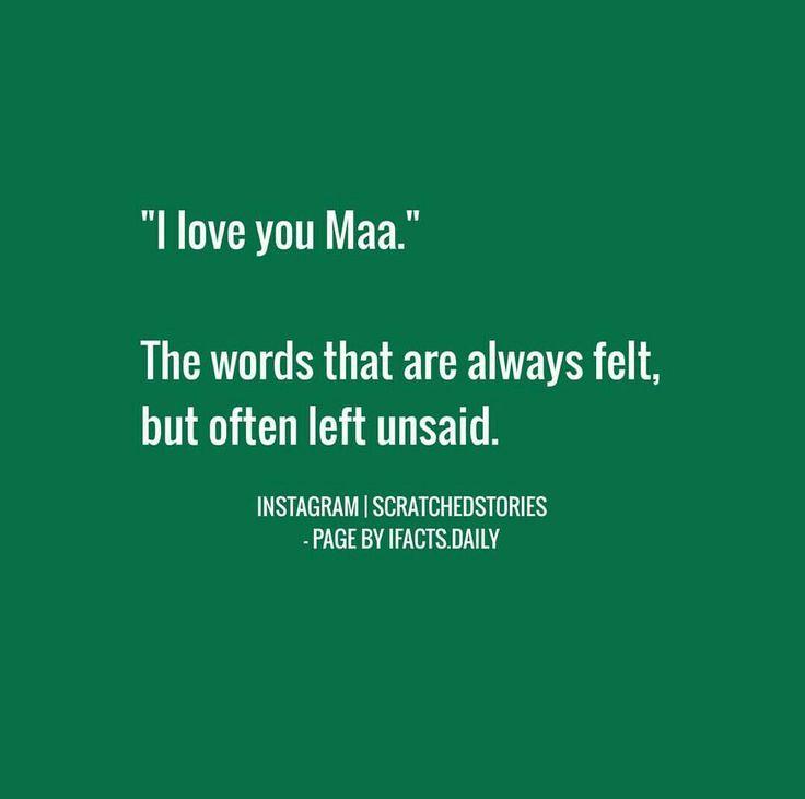 Love you maa