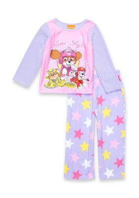 Nickelodeon™ Paw Patrol Fleece 2-Piece Pajama Set Toddler Girls - Purple - 2T