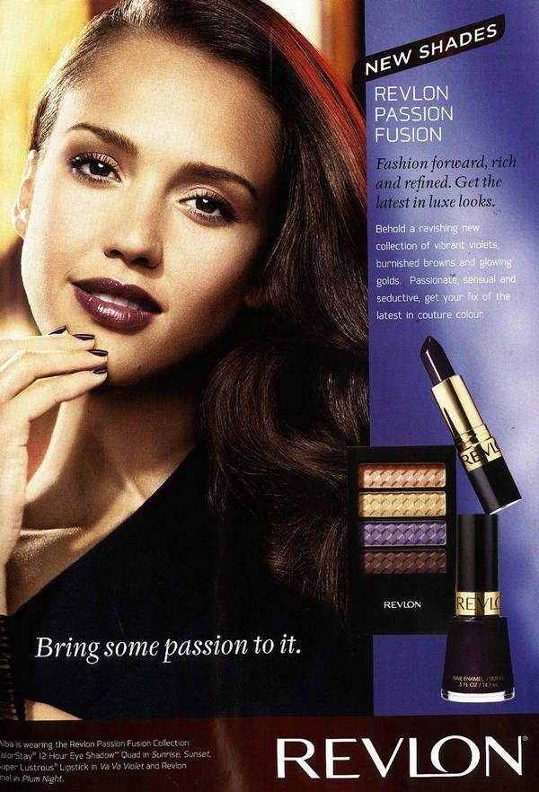 Jessica Alba for Revlon lipstick. | Commercials..! | Pinterest ...