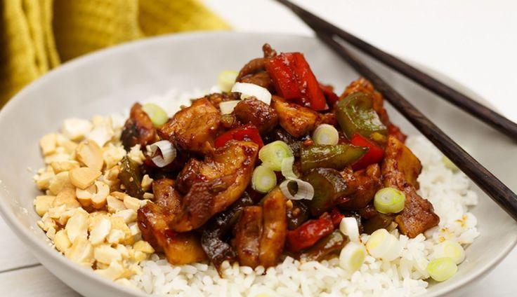 Tim van SmaakMenutie stuurde ons zijn recept Chinese Kung Po Kai, ook wel Kip Kung Pao genoemd. Een echte klassieker uit de Chinese keuken!