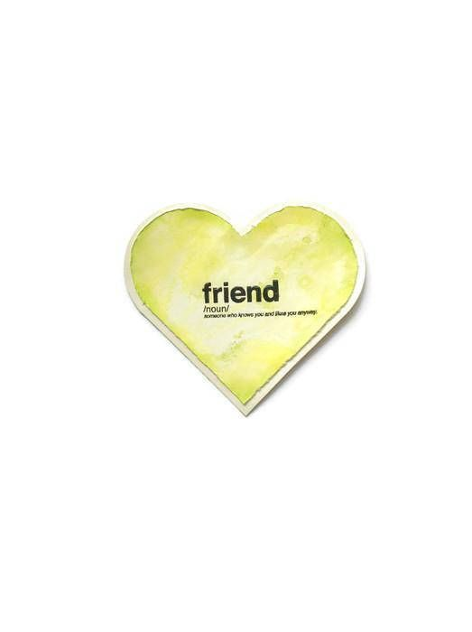 card for sisters heart cards heart shaped cards lime green