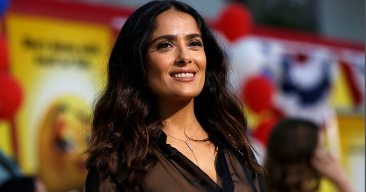 Salma Hayek Said Trump Planted A Story About Her In The National Enquirer After She Refused To Date Him