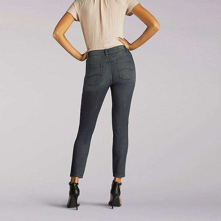 Lee Women's Modern Series Anna Skinny Ankle Jeans (Size 16 Slim)