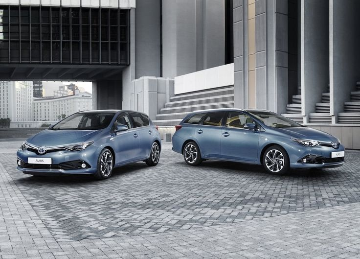 Toyota Auris hybride : un restylage pour Genève 2015