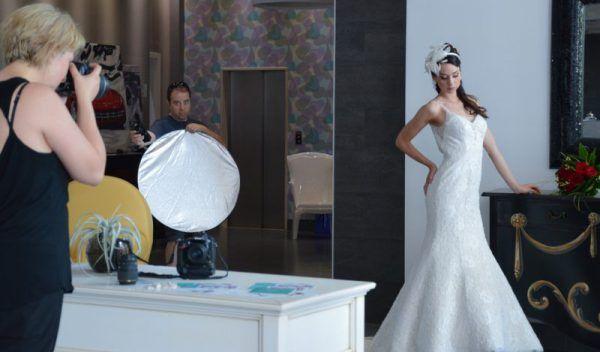 abiti da sposa sirena photoshoot 2017