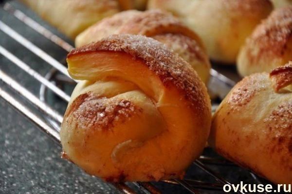 Яблочные рогалики - Простые рецепты Овкусе.ру