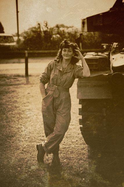 WWII Female Mechanic