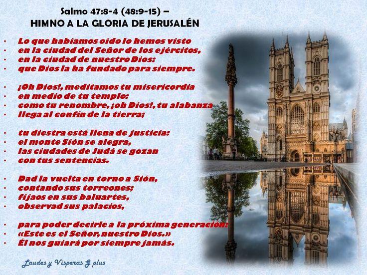 Fragmentos bíblicos tomados de Laudes de hoy